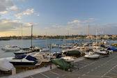 Bateaux dans le port — Photo