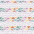 Stock Vector: Abstract triangle seamless pattern