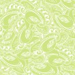 Seamless elegant paisley lace pattern - Stock Vector