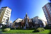 Beautiful church in Milan — Stock Photo