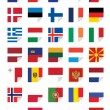 Flags of European States — Stock Vector #18650911