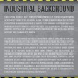 Industrial background - Stockvectorbeeld