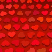 Corações 3d — Vetorial Stock