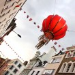 Chinatown, Central London, England - Stock Photo