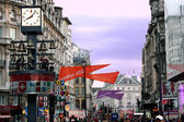 Leicester Sq, Central London, England — Stock Photo