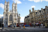 The Collegiate Church of St Peter & Westminster Abbey Choir School, London, England — 图库照片