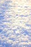 Snow texture — Stock Photo