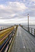 Southend-on-Sea Pier, Essex, England — Stock Photo