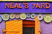 Colorful Neal's Yard, Covent Garden, London — Stock Photo