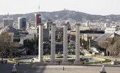 Panoramic view of Barcelona, Spain — Stock Photo