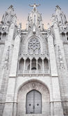 Tibidabo church — Stock Photo