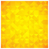 Triangle and Square Yellow Abstract Pattern — Stock Vector