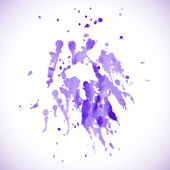 Abstract grunge background with ink splat — Stock Vector