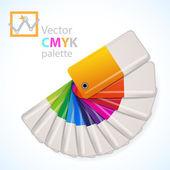 Color palette icon — Stock Vector