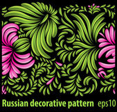 Seamless patterns in traditional Ukranian style — Stock Vector