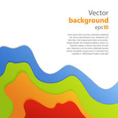 Abstract vector paper background — 图库矢量图片