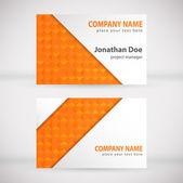 Modern Business-Card Set 06 — Stock Vector