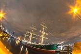 Harbor lights — Stock Photo