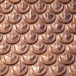 Copper texture — Stockfoto