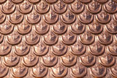 Copper texture — Stock Photo