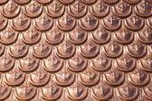 Copper texture — Stock Photo