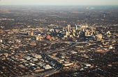Aerial view of san antonio — Stock Photo