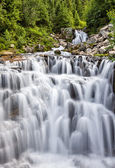 Cascading waterfall at Mount Rainier National Park — Stock Photo