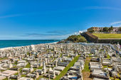 Graveyard in Old San Juan — Stock Photo