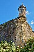 Sentry box Old San Juan — Stock Photo