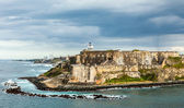El Morro Spanish Fortress, San Juan — Stock Photo
