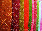 Indian handmade fabric — Stock Photo