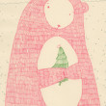 Милый плюшевый медведь — Стоковое фото