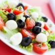 Beautiful and bright salad for good health — Stock Photo