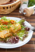 Cabbage stuffed with rice and meat, roll — Foto de Stock