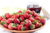 Juicy and sweet strawberry — Stock Photo