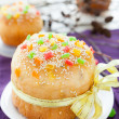 Flavorful and mouthwatering baking for the holiday, Easter — Stock Photo #19861665