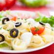 Royalty-Free Stock Photo: Delicate-tasting pasta with mozzarella