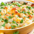 otato gratin with cheese - Stock Photo