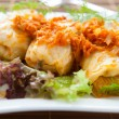 Stuffed cabbage with carrot sauce — ストック写真
