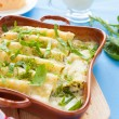 Cannelloni baked in the oven — Stock Photo
