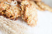 Low-fat pastry cereal with unrefined sugar — Stock Photo
