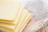 Flat sheets for lasagna — Stock Photo