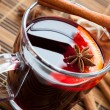 Stock Photo: Warming drink in large cup of mulled wine