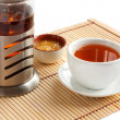 Fragrant tea with honey. — Stock Photo