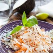 Salad of black radish and carrot - Photo