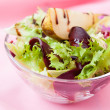 Royalty-Free Stock Photo: Salad with pear, beetroot and lettuce