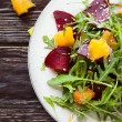 Fresh salad with beets and oranges — Stock Photo #23573859