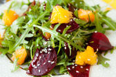 Fresh salad with beets and oranges — 图库照片