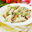 Pasta with seafood — Stock Photo #24791321