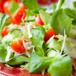 Fresh spring salad with cabbage — Stock Photo #25585923